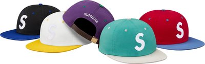 (TORRENT) 2016 春夏 Supreme 2-Tone Washed S Logo 6-Panel 六分帽