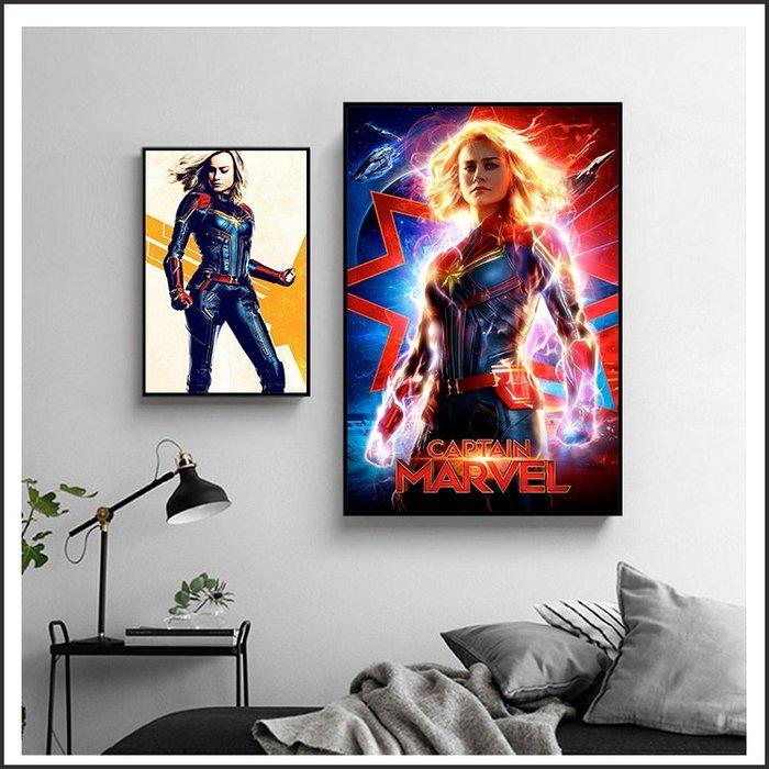 日本製畫布 電影海報 驚奇隊長 Captain Marvel 掛畫 嵌框畫 @Movie PoP 賣場多款海報~
