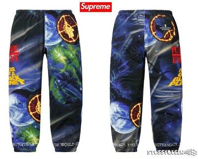 【超搶手】全新正品  Supreme x UNDERCOVER Public Enemy Sweatpant 星球 棉褲