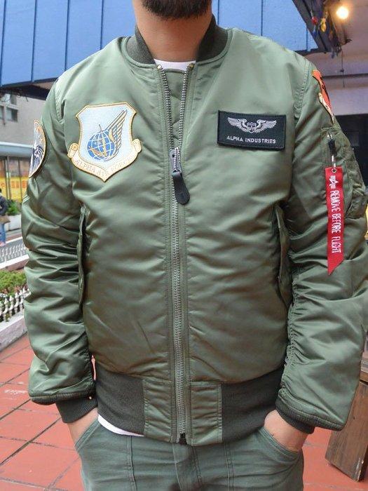 ☆AirRoom☆【現貨】ALPHA MA-1 JAPAN SPEC AIR CREW PATCH 外套 日版貼布