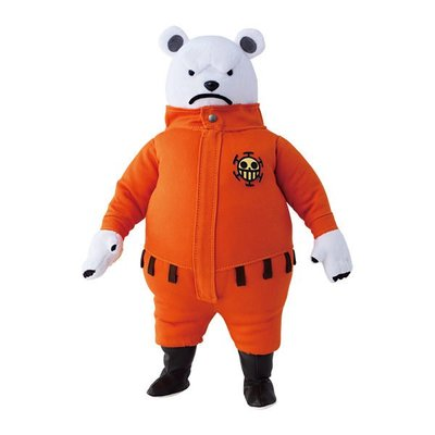 海賊王 ONE PIECE Stuffed Col.feat.P.O.P 絨毛布偶-培波BEPO(Megahouse)日初版,現貨