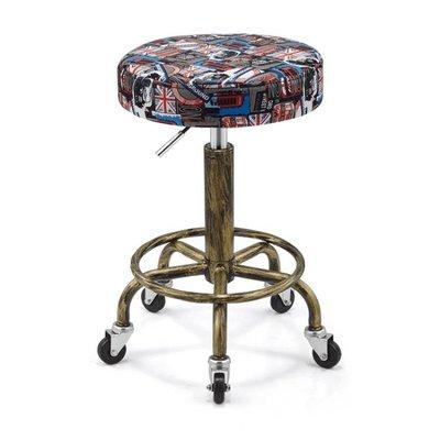 復古防爆版升降旋轉美容椅美容凳大工凳滑...