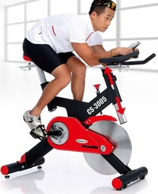 宏亮 詢問有優惠 專人配送至府上 強生 CHANSON CS-3005 飛輪競速健身車 飛輪車 桃園市