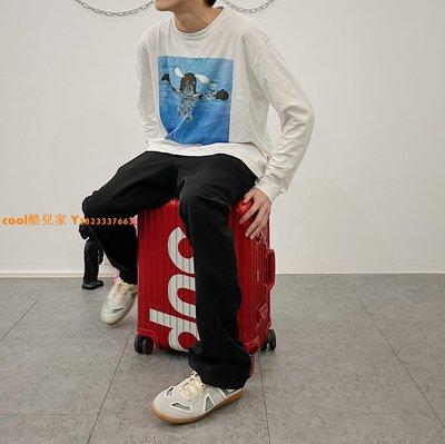 cool酷兒家@/Gallery 19FW ELASTIC FLARED PANTS闊型3D裁剪西褲喇叭長褲