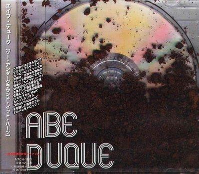 K - Abe Duque - So Underground It Hurts  - 日版 +2BONUS - NEW