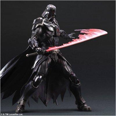 ∞Anime∞ STAR WARS 星際大戰 DARTH VADER 黑武士 PLAY ARTS改 港版