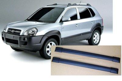 ARTC認證合格 HYUNDAI Tucson 車款專用 美規鋁合金 車頂架 行李架 橫桿 特價一組 $3,000