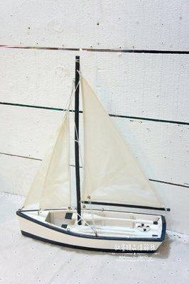 ~*歐室精品傢飾館*~地中海 海洋風 木製 藍白 帆船 擺飾 裝飾 船槳 居家 民宿 營業空間 海邊 布置~新款上市~