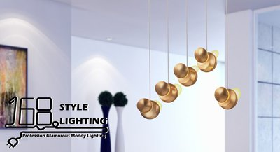 【168 Lighting】電鍍時尚《LED吊燈》(兩款)大款DX 81422-4