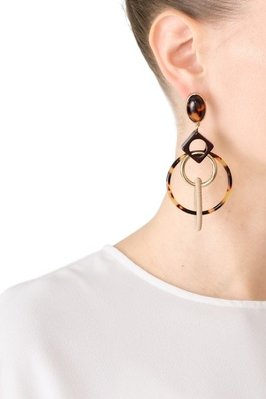 【全新正貨私家珍藏】TORY BURCH SPINNING  HOOP EARRING 造型質感耳環
