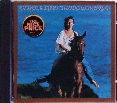 《絕版專賣》Carole King 卡洛金 / Thoroughbred (美版.無IFPI)