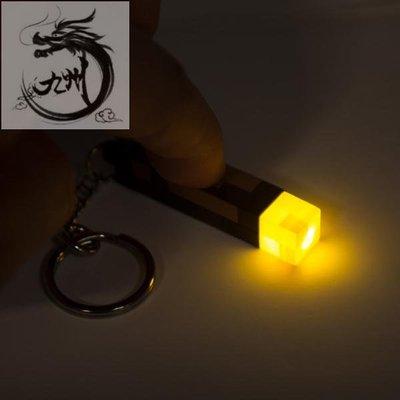 九州動漫Minecraft我的世界游戲周邊玩具火炬發光模型手電筒火把夜燈掛件