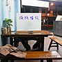 木作【底座40公分+用餐隔板(隔板可挑色)】店家防疫做的好 顧客來店用餐免煩惱 原木名片架*JING&NIKKI