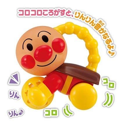 麵包超人 手搖鈴小車 日本正版 6個月以上