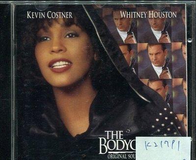 *真音樂* THE BODYGUARD / ORIGINAL SOUNDTRACK ALBUM 二手 K21791