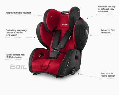 【易油網】RECARO Young Sport Hero 兒童安全座椅