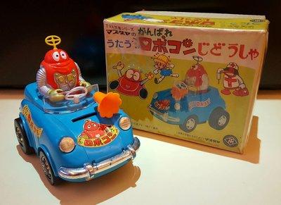 1976年 昭和增田屋 Masudaya小露寶 friction Baby Car汽車仔SOFUBI公仔。高15cmx長20cm。可運作。popy年代出品。