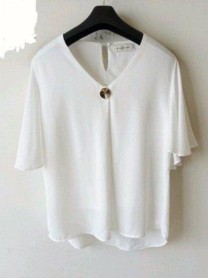 全新美國品牌Abercrombie &fitch知性優雅造型上衣S號