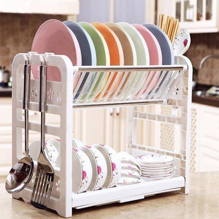 YEAHSHOP 廚房瀝水碗架收納架置物架碗筷簍Y185