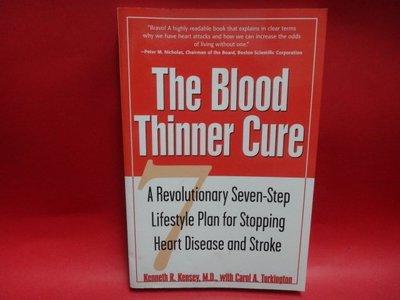 【愛悅二手書坊 10-11】The Blood Thinner Cure         McGraw-Hill