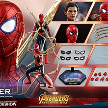🚀[全新現貨]Hottoys Iron Spider 蜘蛛俠 Avengers Infinity War Spiderman MMS482