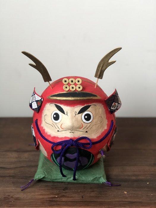 發現花園 日本選物~日本製 五月人形 紙工藝  ~ 祈福 達摩