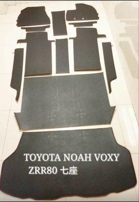 汽車地毯 用品 精品 TOYOTA NOAH VOXY ZRR70 ZRR80歡迎訂做 各款 地墊 踏墊 地氈 腳墊