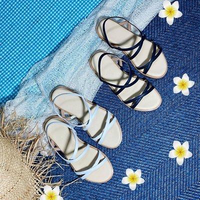 1199-2 新品上市   仙女小姐姐 的 真皮細帶涼鞋 氣墊涼鞋 丹妮鞋屋 台灣 手工鞋
