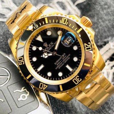 ROLEX勞力士手錶 水鬼系列 限量116610LV 綠水鬼藍水鬼 潛行者 黑金水鬼 鬼王男錶  自動機械手錶 男士腕錶