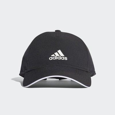 # ADIDAS LOGO CAP 黑色 愛迪達 復古 老帽 運動帽 黑白 男女 黑 運動 CG1781 YTS
