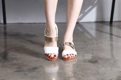 ~Vivian Baby韓國 ~ ~大人款~白金 款涼鞋
