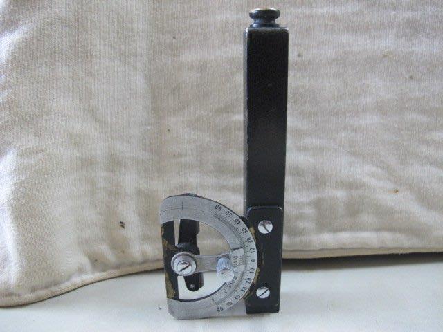 二手舖 NO.2708 礦場老工具 罕見古董儀器 測量礦坑平面地圖適用 度量衡
