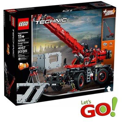 【LETGO】全新現貨 LEGO 樂高積木 科技系列 42082 曠野地形起重機 吊車 工程車 耶誕禮物 生日禮物