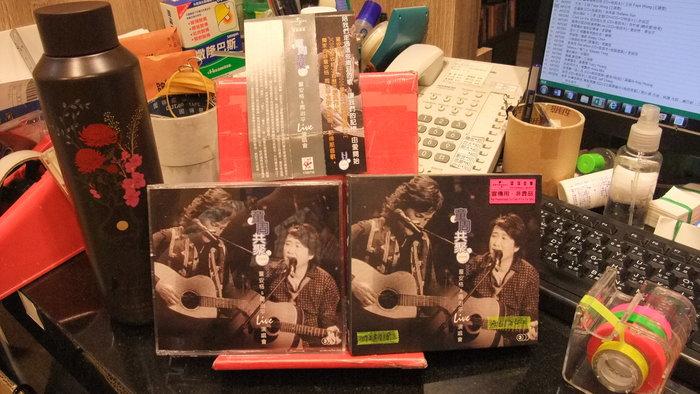 【側標有折痕】 童周共聚2006演唱會Live (3CD+歌詞本) / 童安格、周治平 A01241