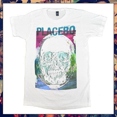 【三分之二】PLACEBO Psychedlic Skull //復古潮流/Band/Tee