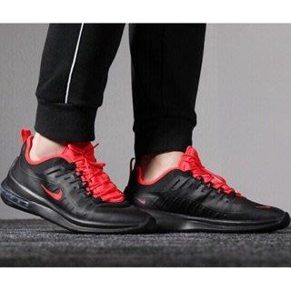 5號倉庫 NIKE AIR MAX AXIS 氣墊慢跑 AA2146008 黑紅男鞋 現貨