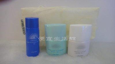 便宜生活館【美妝商品】SHISEIDO資生堂  ANESSA安耐曬防曬隔離乳(三件組)公司貨