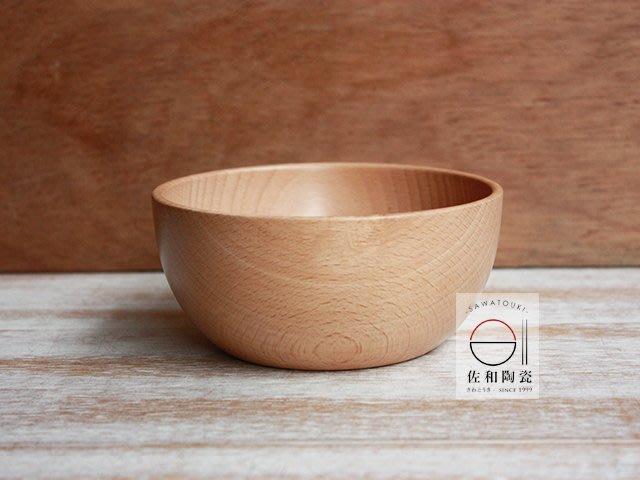 +佐和陶瓷餐具批發+【09W135 櫸木碗】木製碗 木碗 沙拉碗 碗缽 飯碗 輕食碗