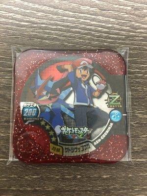 全新 日本正版 神奇寶貝 TRETTA 方形卡匣 Z2彈 大師等級 四星卡 小智+甲賀忍蛙 Z2-06