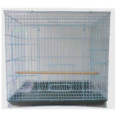 折疊式鳥籠-尺半-附杯子棍子底盤/ 呎半/ 1尺半/ 1呎半/ 1.5尺/ 1.5呎/ 鸚鵡, 雀科, 野鳥等寵物/ 組裝簡單 收納方...