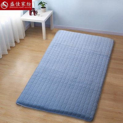 交換禮物-床墊榻榻米床墊地床墊懶人1.5m床經濟型偏硬雙人1.8m床可折疊軟硬兩用