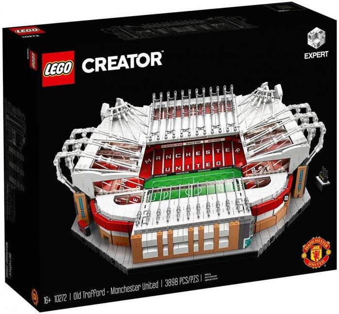 LEGO 樂高 10272 (樂高熊) CREATOR 曼聯老特拉福德球場 Old Trafford 全新未拆 保證正版