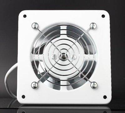 靜音排風扇廚房排氣扇衛生間墻4寸窗式換氣扇管道抽風機強力工業 【向左的街】元旦狂歡 全店免運