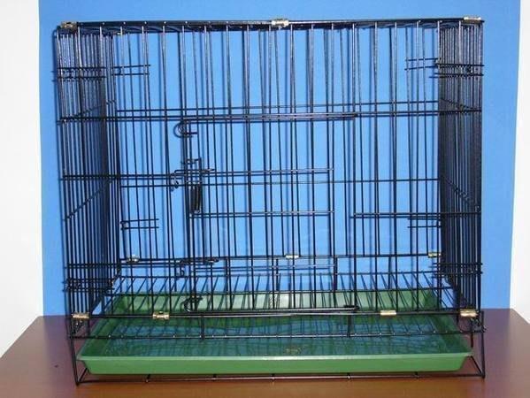 ~e世代~寵物2尺單門活動褶疊式靜電粉體烤漆籠摺疊狗籠(密底腳踏網)兔貓籠買建議搭配花香尿布墊一起使用