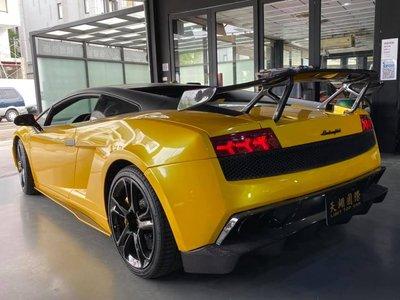 【天翊國際】Lamborghini LP550 LP560 LP570 D款 抽真空 碳纖維 尾翼