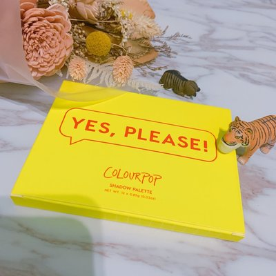 ‼️ 現貨供應 Colourpop 眼影盤 Yes please