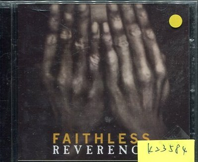 *真音樂* FAITHLESS / REVERENCE 二手 K23584