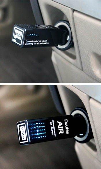 【吉特汽車百貨】 Double AIR miniQ 空氣清淨機(黑色/白色)效果超棒!品質嚴選~台灣製造