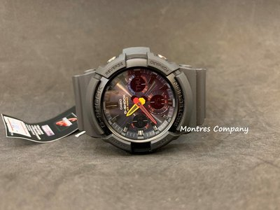 Montres Company香港註冊公司(25年老店) CASIO g-shock GAS-100BMC-1A 有現貨