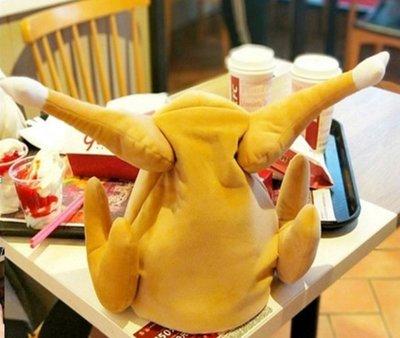 乂世界派對乂動物帽/雞帽/聖誕帽/ 烤雞帽/ 復活節帽子/火雞帽/ 電動烤雞帽